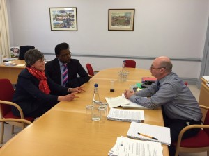 ASPC meeting with Rt Hon Alistair Burt MP